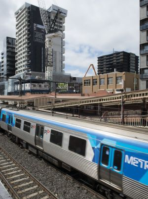 South Yarra: Melbourne's busiest station outside the CBD.