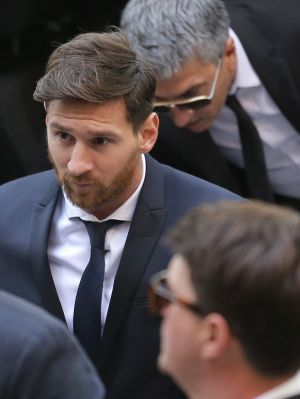 Barcelona soccer player Lionel Messi received a 21-month prison sentence for defrauding authorities of 4.1 million euros ...