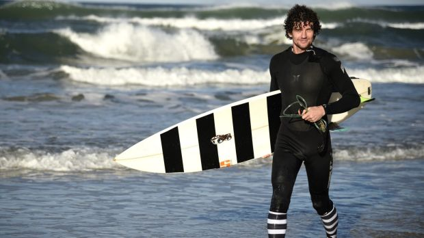 Canberra surfer Jeremy Kenny, one half of an entrepreneurial duo, wants to protect surfers, and sharks, with new ...