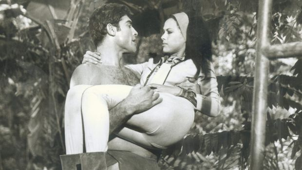 <i>Tarzan and the Jungle Boy</i> ... Mike Henry and  Alizia Gur in 1967.