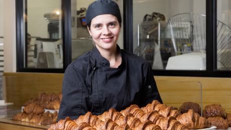 Agathe Kerr has struggled with sick staff at her business, Agathe Patisserie.