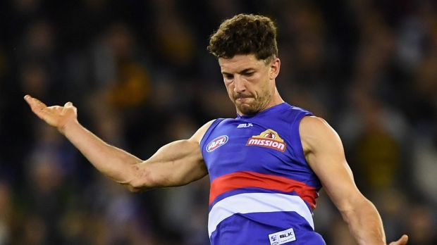 Back in the side: Tom Liberatore.