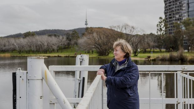 Convenor of Lake Burley Griffin Guardians, Juliet Ramsay. The group is concerned about the redevelopment of the ...