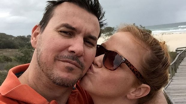Adam Ross, pictured here with wife Stephanie, said the discovery his marriage was on the rocks came from 'left field'.