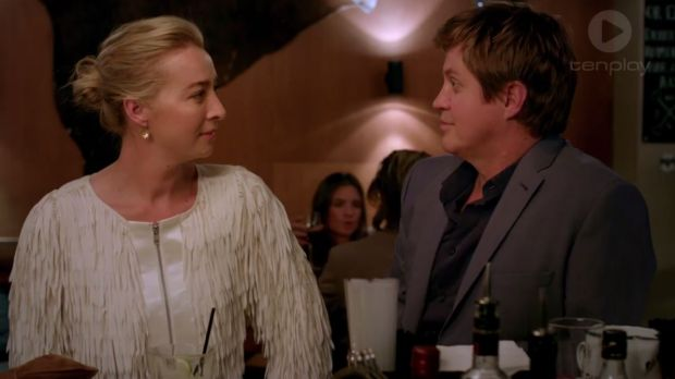 <i>Offspring</i> fans aren't impressed with the chemistry between Asher Keddie and Dan Wyllie, who played a married ...