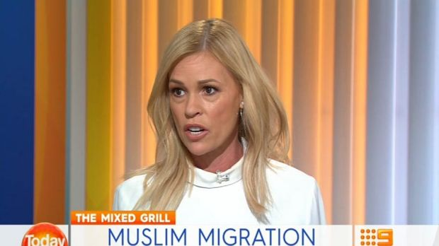 Sonia Kruger wants a ban on Muslim migration to Australia.