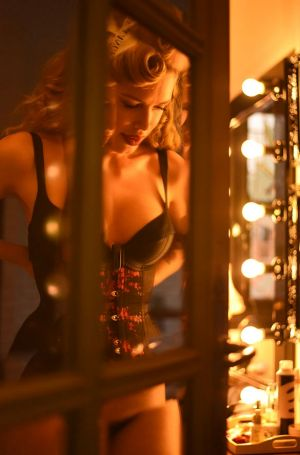 Tara Moss realised that the corsets she loved for aesthetic reasons also performed an important function.