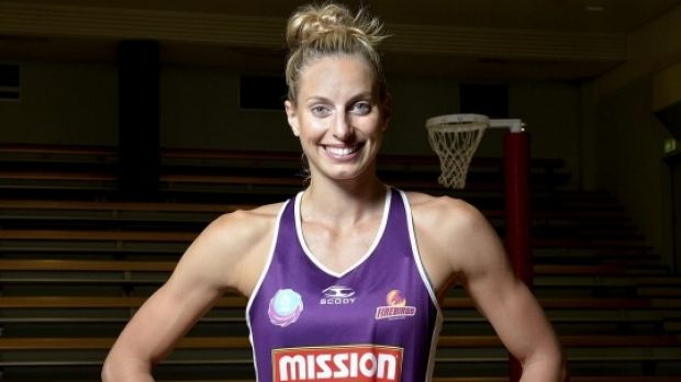 Firebirds and Diamonds star Laura Geitz.