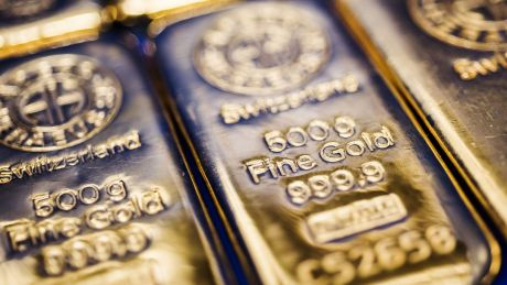 Gold futures fell as much as 1.6 per cent to $US1236.50 an ounce on the Comex, the lowest for a most-active contract ...