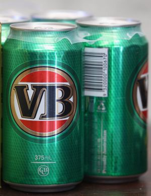 SABMiller owns brands such as VB, Carlton and Crown.