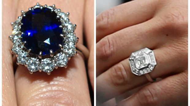 Catherine Duchess Of Cambridge And Pippa Middletons Respective Engagement Rings
