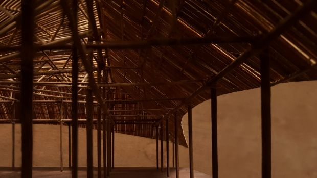 A model of Bijoy Jain's design for the third MPavilion.