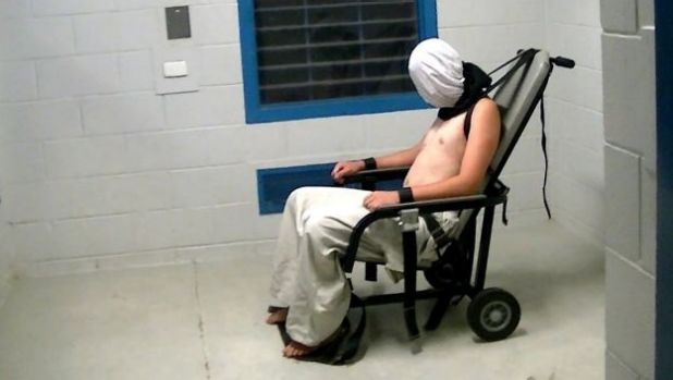 """The United Nations says """"most of the children who were held at the detention facility are deeply traumatised""""."""