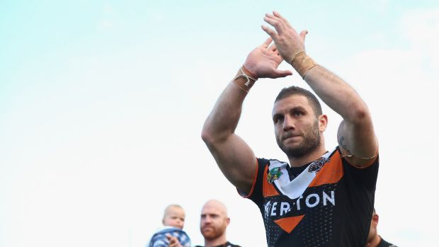Injuries to the Tigers could see Robbie Farah return to the NRL.