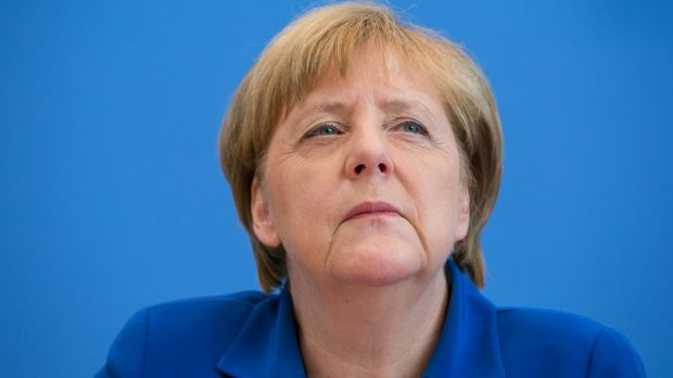 German Chancellor Angela Merkel defends her refugee policy following renewed criticism in the wake of violent attacks in ...