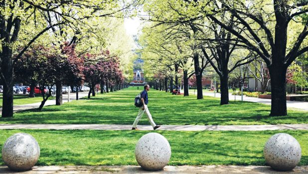 The Australian National University has finished in eighth place in the Times Higher Education's most international ...