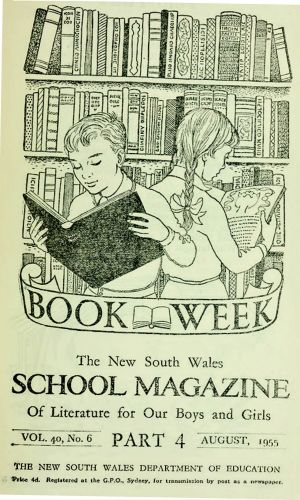 Then ... a School Magazine cover from 1956.