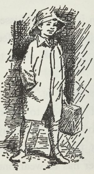 The School Magazine campaigned for the yellow raincoat.