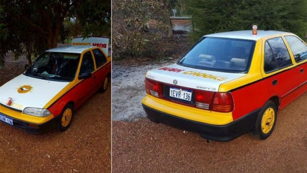 perth man selling his much loved emu export car for 1000. Black Bedroom Furniture Sets. Home Design Ideas