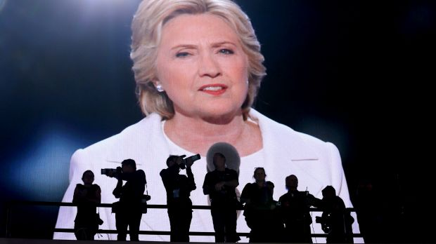 Hillary Clinton has become more popular after the convention.