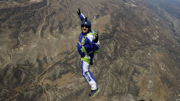 Skydiving Maestro Luke Aikins Free Falls Without a Parachute