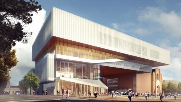 The new Perth Museum, due to open in 2020.