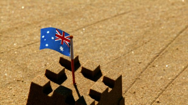 The Australian property boom market looks as if it is on shaky foundations.