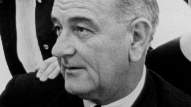 President Lyndon B. Johnson signed the Voting Rights Act in 1965.