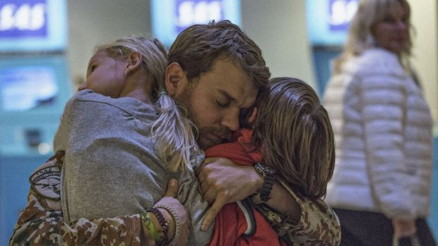 Pilou Asbaek shines in Tobias Lindholm's film A War, screening at the Melbourne International Film Festival.   A WAR 03.jpg