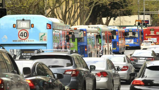 Sydney bus drivers strike for 24 hours in protest