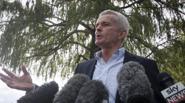 One Nation senator-elect Malcolm Roberts was not present for the AEC's formal declaration of results.