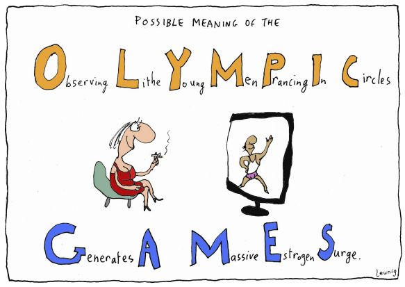 leunig cartoon analysis