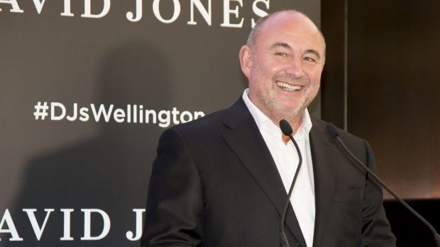 Ian Moir warned shareholders in late 2016 to expect 'substantial losses' as it invests in rolling-out the David Jones ...