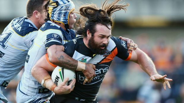 Staying or going: Aaron Woods.