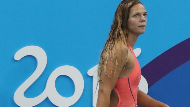 Twice tested positive: Russia's Yulia Efimova served a 16-month ban for steroids in 2013 and tested positive for ...