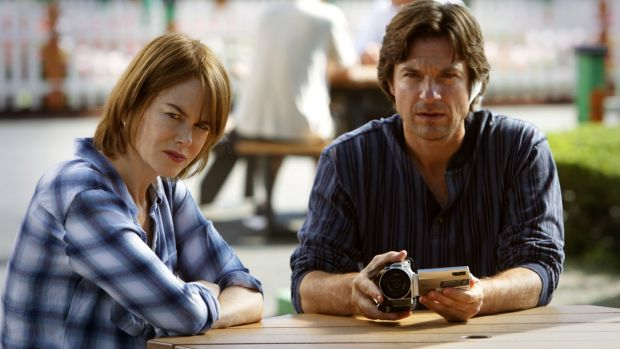 Nicole Kidman and Jason Bateman star as troubled siblings in <i>The Family Fang</i>.