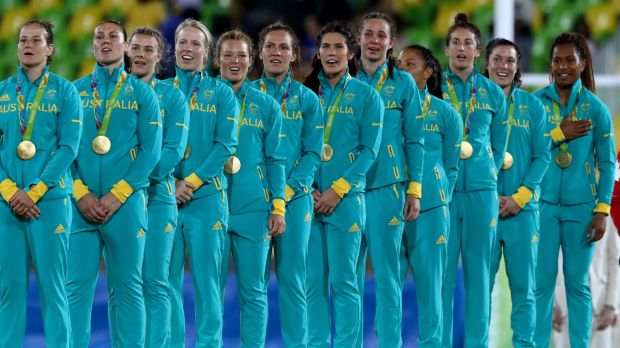 Time to shine: The Pearls' sevens win was a fabulous moment for Australian sport.