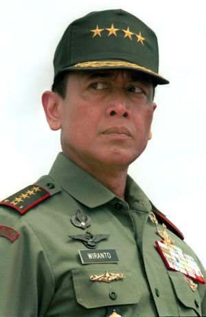 "Chief security minister Wiranto said ""military ties have not been completely severed""."