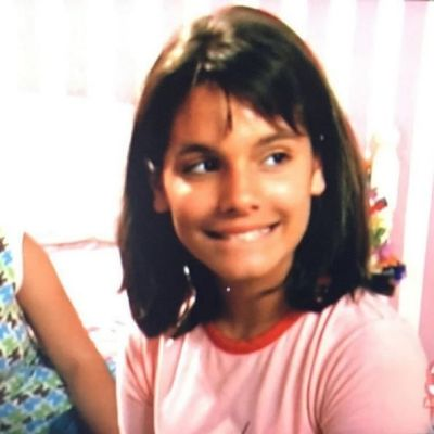 Queer actor Caitlin Stasey shared this throwback to her days on </i>Neighbours</i> with the simple caption: &quot;scamming ...