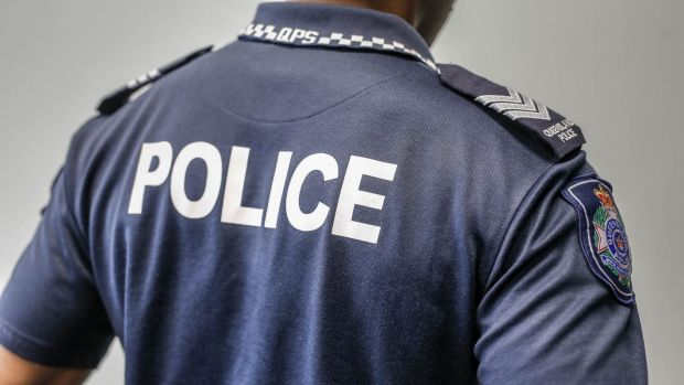 The police officer shot dead Queensland road