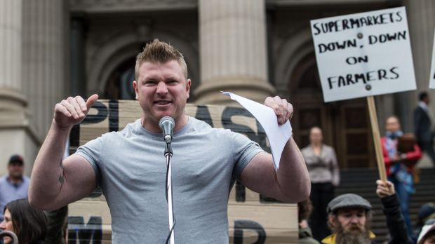 Blair Cottrell of the United Patriots Front.