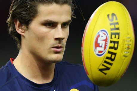 Time out: Western Bulldogs ruckman Tom Boyd is taking a break from the game due to depression.