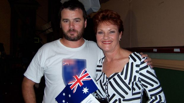 The rally is  being organised by Sydney-based Nick Folkes. His Party for Freedom  uses Pauline Hanson's image on its ...