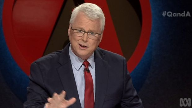 <i>Q&A</i> host Tony Jones. The top concern for TV Tonight viewers is ensuring ABC and SBS remain independent of ...