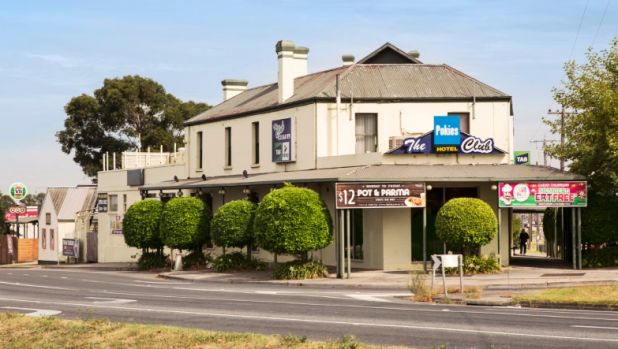 The Club Hotel in Ferntree Gully.