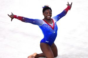 American gymnast Simone Biles has revealed she was a victim of former team doctor Larry Nassar.
