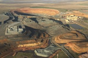 Evolution Mining's Cowal gold mine in NSW.