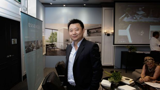 Jeff Xu, CEO of property development company Golden Age.