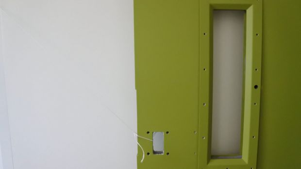 Hydrostatic glass, that changes from opaque to clear when an electric current pulses through it, will allow staff to ...