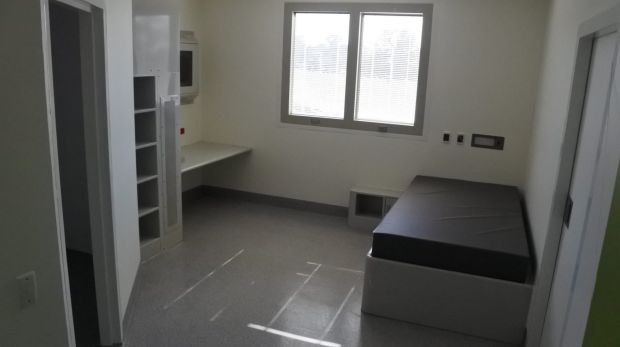 An acute room in the new Dhulwa Mental Health unit.